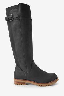 Высокие ботинки на массивном каблуке Forever Comfort®