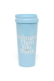ban.do Blue Hot Stuff 'Stronger Than You Think' Thermal Mug