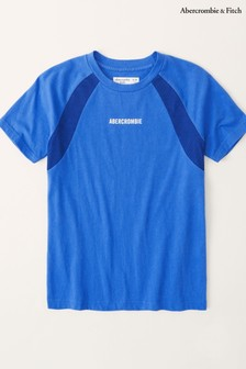 Abercrombie & Fitch Sporty Mesh Panel T-Shirt