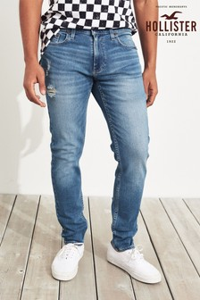 Hollister skinny jeans in medium wassing