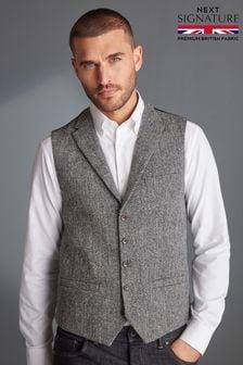 Signature Harris Tweed Waistcoat