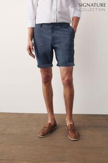 Slim Fit Premium Signature Chino Shorts With Stretch