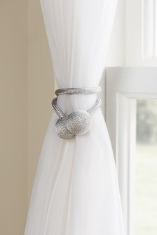 Set of 2 Magnetic Curtain Tie Backs
