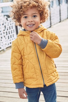 Star Quilted Jacket (3mths-7yrs)