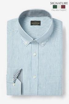 Фирменная льняная рубашка Nova Fides