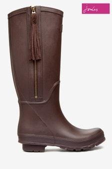Joules Dark Brown Boots