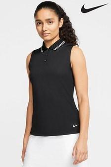 Débardeur de golf Nike Dri-FIT Victory noir