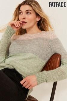 Črtast pulover FatFace