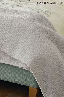 Laura Ashley Silver Carrie Bedspread