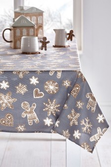 Wipe Clean Table Cloth With Linen (934355)   $35 - $40