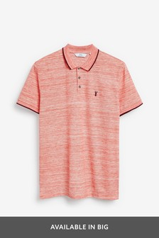 Marl Tipped Regular Fit Polo