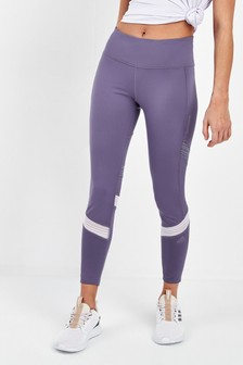 adidas Purple How We Do Run Leggings