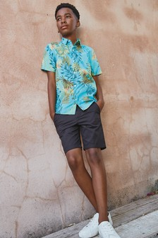 قميص كُم قصير (3-16 سنة)