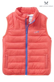 Crew Clothing Red Gilet
