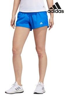 """מכנסיים קצרים כחולים  3"""" Run It של Adidas"""