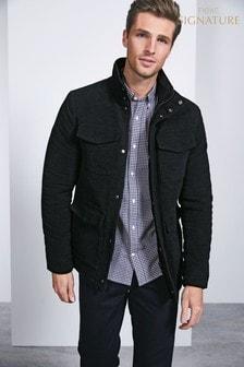 Signature Moleskin-Jacke mit vier Taschen