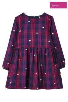Joules藍色Rowena編織連衣裙