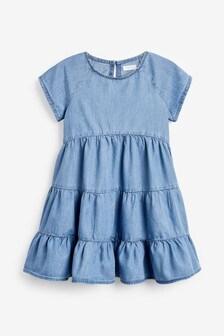 Ярусное платье из материала TENCEL™ (3-16 лет)