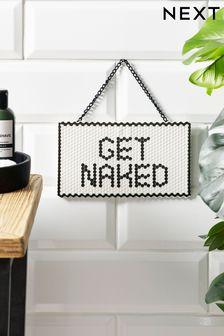 Get Naked Ceramic Hanging Decoration