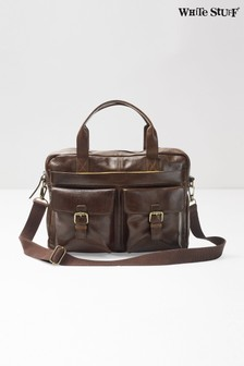 White Stuff Brown Finn Work Bag