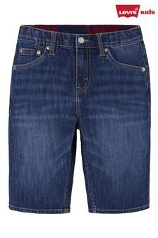 Levi's® Navy Slim Fit Performance Shorts