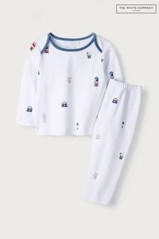 The White Company White London Bear Pyjamas