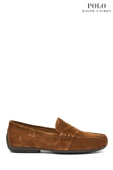 Polo Ralph Lauren® Tan Suede Reynold Driver Shoes