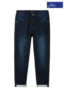 Joules Blue Bradley Jersey Denim Slim Jeans