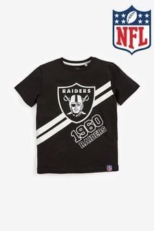 NFL Raiders T-Shirt (3-16yrs)