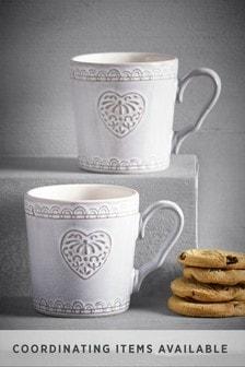 Adeline Heart Mug