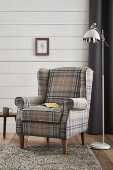Sherlock II Petite Armchair With Light Legs