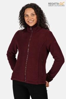 Regatta Purple Brandall Full Zip Fleece Jacket