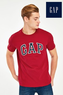 Gap kurzärmeliges T-Shirt, Rot