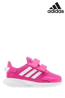 Розовые/белые кроссовки на липучках для малышейadidas Tensaur Run