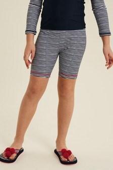 FatFace Blue Stripe Leggings