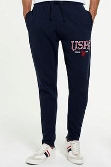 بنطلون رياضي بشعار من U.S. Polo Assn