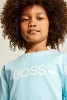 BOSS Aqua Logo T-Shirt