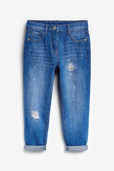 媽媽牛仔褲 (3-16歲)
