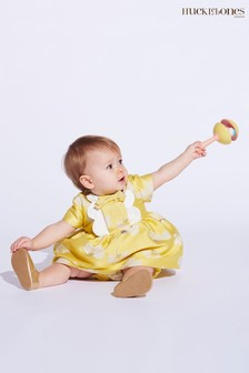 Hucklebones Yellow Floral Dress And Bloomers