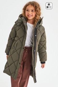 Непромокаемая дутая стеганая куртка (3-16 лет)