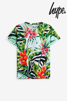 Hype. Palm Tropical Print T-Shirt