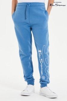 Ben Sherman® Blue Ben Outline Joggers