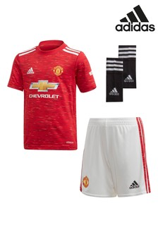adidas Manchester United Home 20/21 Mini Kit