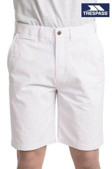 Trespass White Atom - Male Shorts