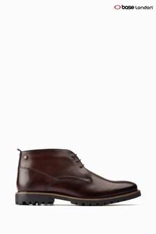 Base London® Brown Brady Washed Chukka Boots