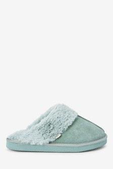 Semišové papuče
