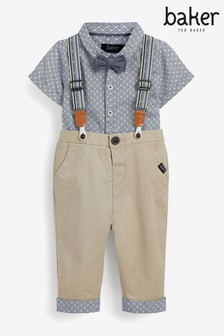 Baker by Ted Baker Boys Trousers, Shirt And Tie Set