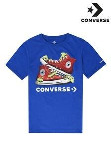 Converse ボーイズカエルTシャツ