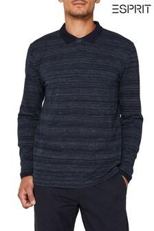 Esprit Space Poloshirt, blau