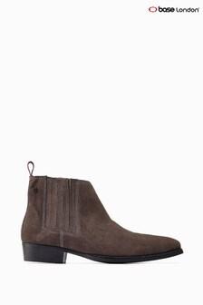 Base London® Grey Monroe Ankle Boots